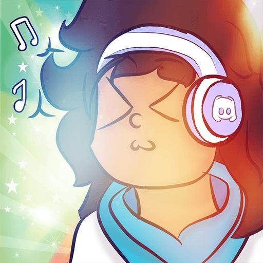 Loritta escutando música
